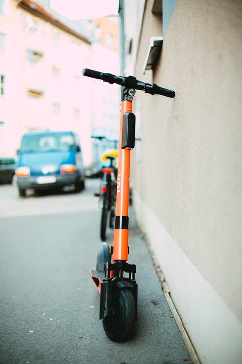 VOI rental e-scooter
